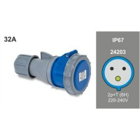 SOCKET IP67 24203
