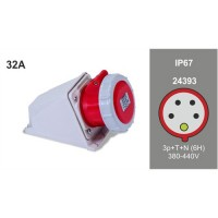 WALL MOUNTING SOCKET IP67 24393