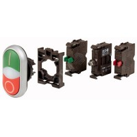 COMPLETE SET - DOUBLE PUSh BUTTON WITH LED